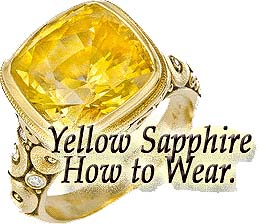 Yellow Sapphire Genuine Gemstone Pukhraj Mumbai India